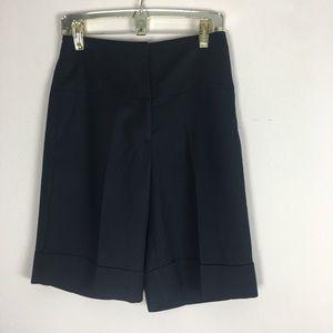 Cache   Black Dress Crop Pants Size 6